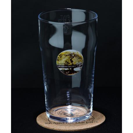 Verre à bière - Brasserie des Faux