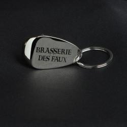 Porte-clés décapsuleur Brasserie des Faux